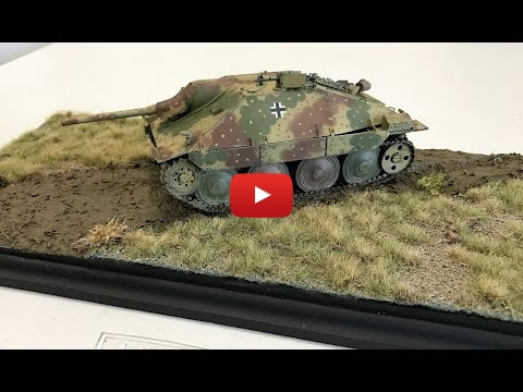 Embedded thumbnail for Building a easy diorama using Ammo by Mig Grass mats