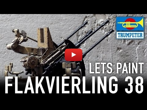 Embedded thumbnail for Advanced Tips - Painting Artillery - Flakvierling 38