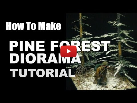 Embedded thumbnail for Diorama World - How to Make Pine Forest