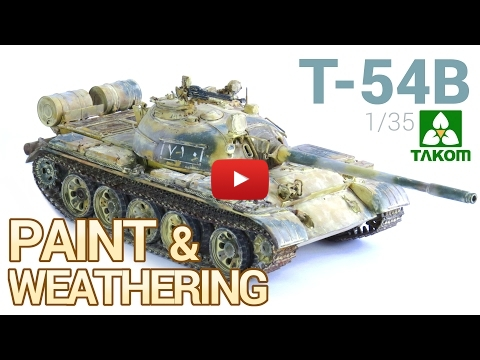 Embedded thumbnail for Painting and weathering a T-54B Russian Medium Tank