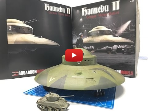 Embedded thumbnail for Building the New Squadron Models 1/72 Haunebu II WWII UFO