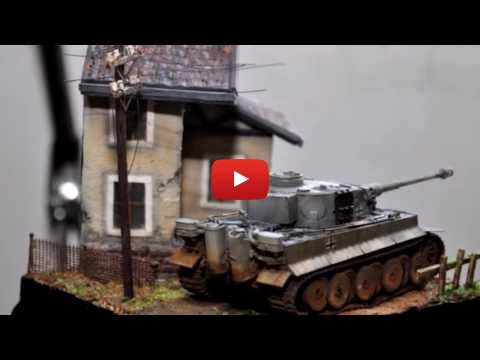 Embedded thumbnail for Diorama World - Tiger Tank 1 72 Pocket Diorama