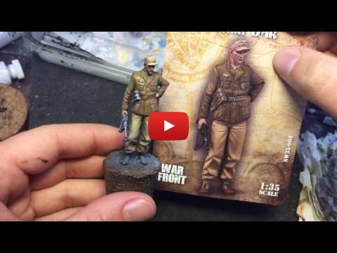 Embedded thumbnail for Figures - How to paint realistic pants 1/35 Scale