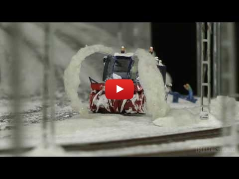 Embedded thumbnail for Diorama World -  Snow and Railroad in action