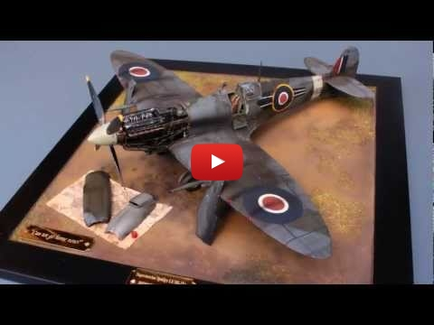Embedded thumbnail for Quick Builds - Tamiya 1/32 Supermarine Spitfire Mk.IXc