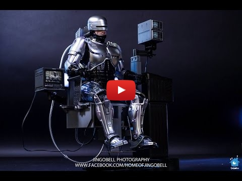 Embedded thumbnail for RoboCop 1:6th Scale Figure With Mechanical Chair Docking Station