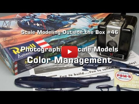 Embedded thumbnail for Photographing Scale Models ... Color
