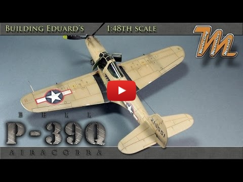 Embedded thumbnail for Quick Build - Bell P-39 Q-1 Airacobra - Eduard 1-48
