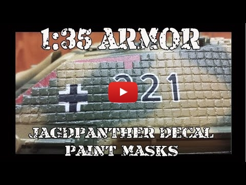 Embedded thumbnail for Advanced Tips - Masking and Painting Marks on German Tanks
