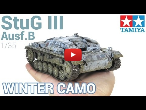 Embedded thumbnail for From painting to weathering and winter camo