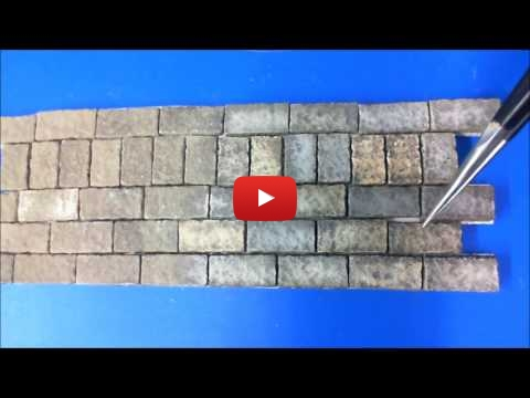 Embedded thumbnail for Diorama World - Pre-Weathering Blocks and Bricks
