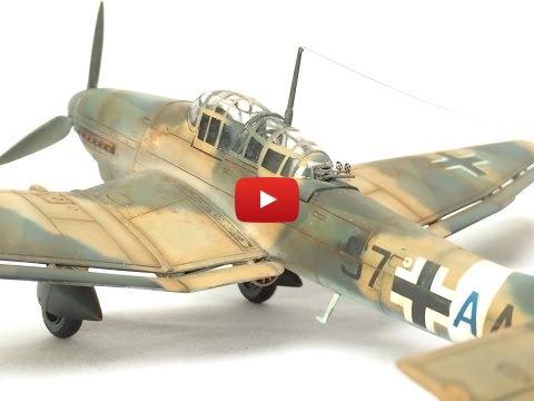 Embedded thumbnail for Final Reveal - 1/72 Junkers Ju87 Stuka