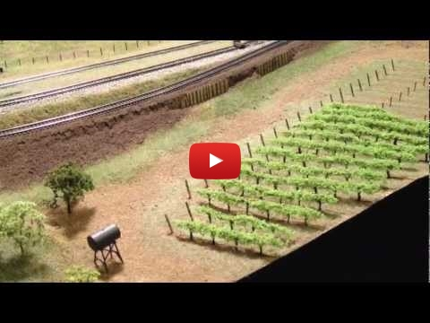 Embedded thumbnail for Diorama World - How to Plant an N-Scale Vineyard
