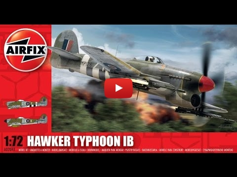 Embedded thumbnail for Review - Airfix Hawker Typhonn IB 1-72 scale
