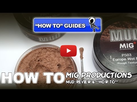 Embedded thumbnail for Mig Production Mud Diorama and Model Paste HowTo