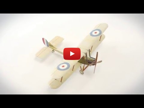 Embedded thumbnail for StopMotion - Royal Aircraft Factory BE2c