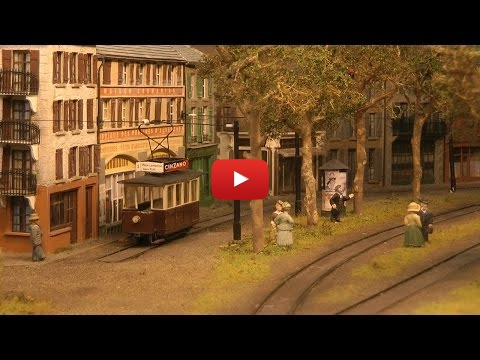 Embedded thumbnail for Diorama World - Traveling with an Old Tramway of France