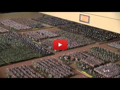 Embedded thumbnail for 1 Man, 20 Years, 250000 figures: it's Waterloo !