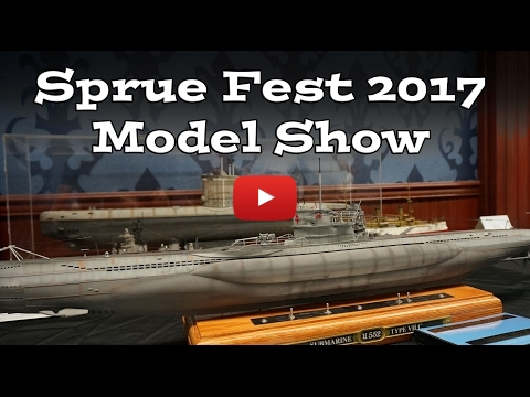 Embedded thumbnail for Sprue Fest 2017 Model Show Photo Coverage