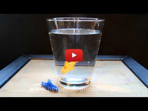 Embedded thumbnail for Funny Ideas - Mini Diving Submarine Toy