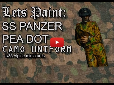 Embedded thumbnail for Figures Tips - 1/35 SS Pea Dot Panzer Uniform