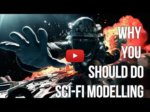Embedded thumbnail for Hot Topic - Why aircraft modelers should do some science fiction
