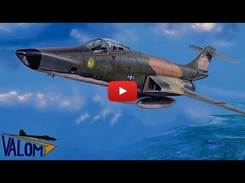Embedded thumbnail for Review - McDonnell RF-101C Voodoo by Valom 1-72