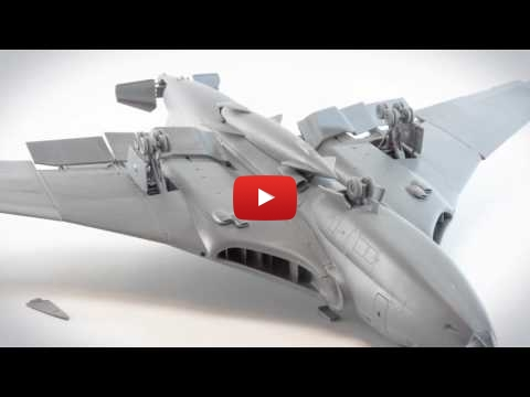 Embedded thumbnail for Stop Motion - Airfix  Handley Page Victor B.2