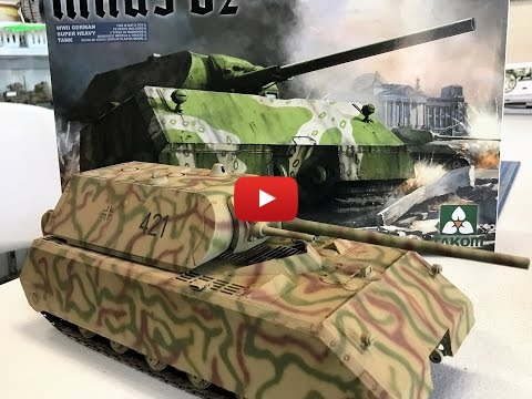 Embedded thumbnail for Full Build - Takom 1/35 Maus 188 Ton Super Heavy Tank