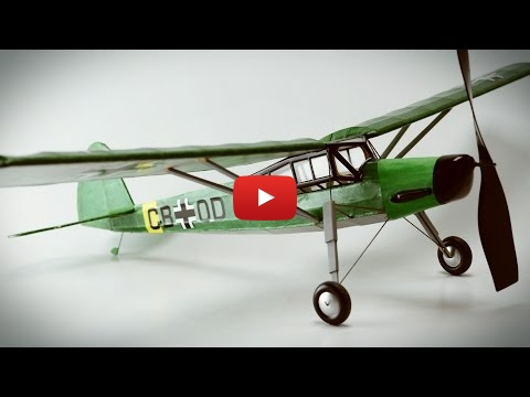 Embedded thumbnail for Stopmotion masterworks - Dumas Kit - Fieseler 156 Storch