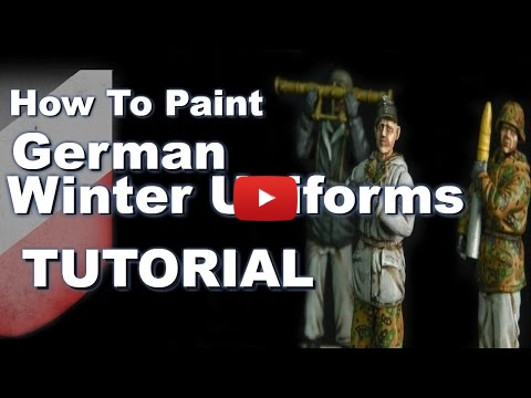 Embedded thumbnail for Painting 1/35 German World War Two Winter Reversible Uniforms