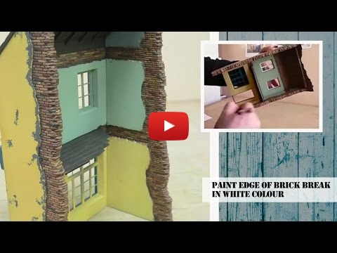 Embedded thumbnail for Assembling and Painting diorama Buildings