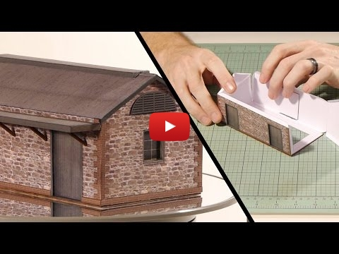 Embedded thumbnail for Diorama World - Paper Building Kits: why not?