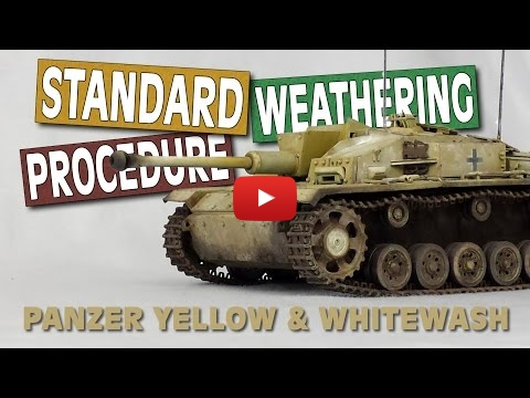 Embedded thumbnail for Back to Basic - Weathering a Stug like a Pro