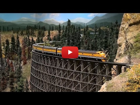 Embedded thumbnail for Diorama World - California Zephyr - Colorado Model Railroad Museum