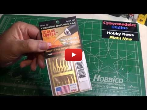 Embedded thumbnail for Review - The Glue Looper - CA glue applicator