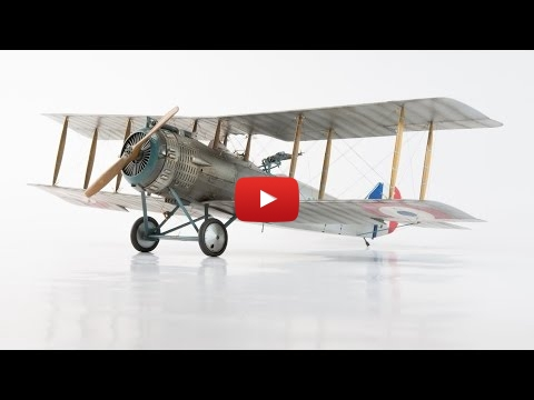 Embedded thumbnail for StopMotion - Wingnut Wings Salmson 2-A2, 1/32