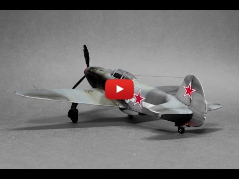 Embedded thumbnail for Full Build - Yakovlev Yak-3 Eduard 1:48