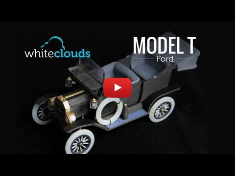 Embedded thumbnail for The 1913 Model T Ford 3D Printed by WhiteClouds