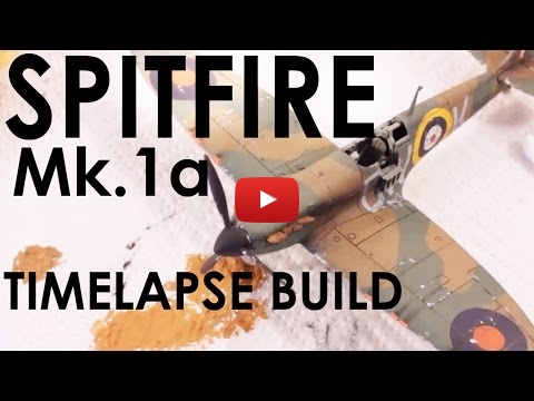 Embedded thumbnail for Airfix 1/72 Spitfire Mk1a Quick Build