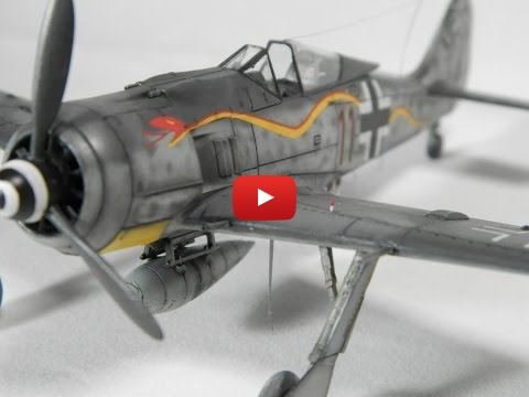 Embedded thumbnail for Quick Build - AIRFIX 1/72 Focke Wulf FW190A-8