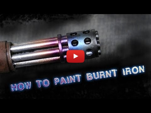 Embedded thumbnail for Advanced tips - How to paint burnt Iron with the airbrush