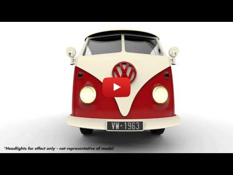 Embedded thumbnail for Airfix VW Camper animation of the assembling process