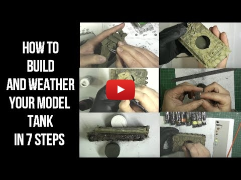 Embedded thumbnail for Back to Basics - build and weather a model tank in 7 steps