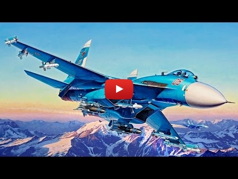 Embedded thumbnail for Full build  - Sukhoi Su-27SMK Flanker Revell