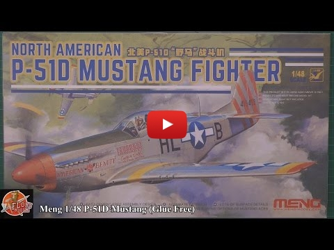 Embedded thumbnail for Review - Meng 1/48th P-51D Mustang