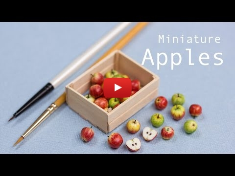 Embedded thumbnail for Modelling the Life - Miniature Apples in their Crate