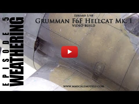 Embedded thumbnail for Weathering the Hellcat F6F-3 in 1/48 scale