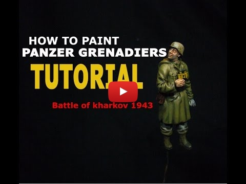 Embedded thumbnail for Figures - How To Paint 1/35 German Panzer Grenadiers