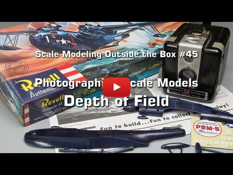 Embedded thumbnail for Photographing Scale Models ... Depth of Field